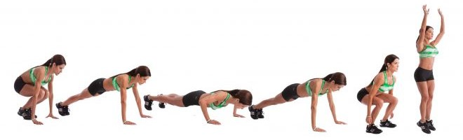 The Dreaded B Word: BURPEES!